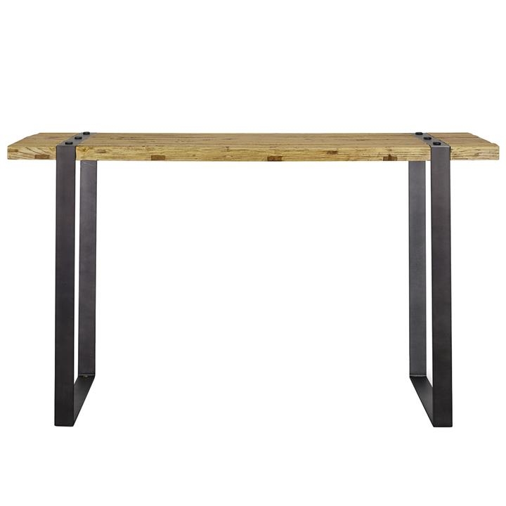 iron console table. Picture Of Coreen Reclaimed Elm Timber \u0026 Iron Console Table, 150cm Table