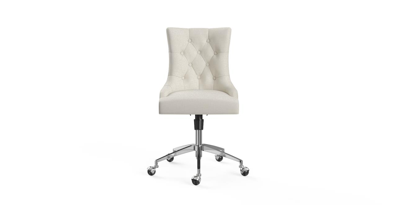 classic office chair. Picture Of Espen Office Chair Silver Classic Cream